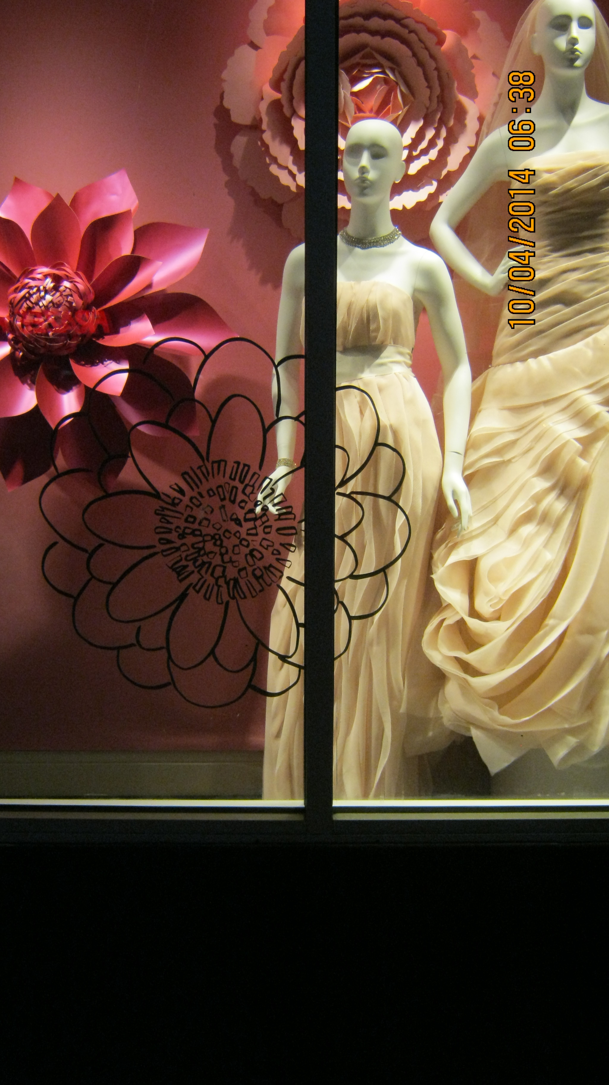 David's Bridal window display 2